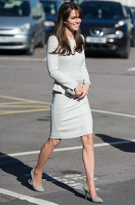 Duchess of Cambridge wearing Aimee