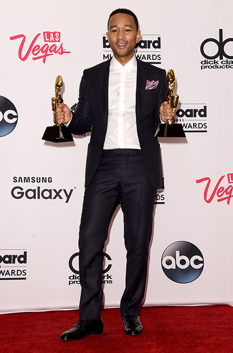 John Legend wearing Prescott
