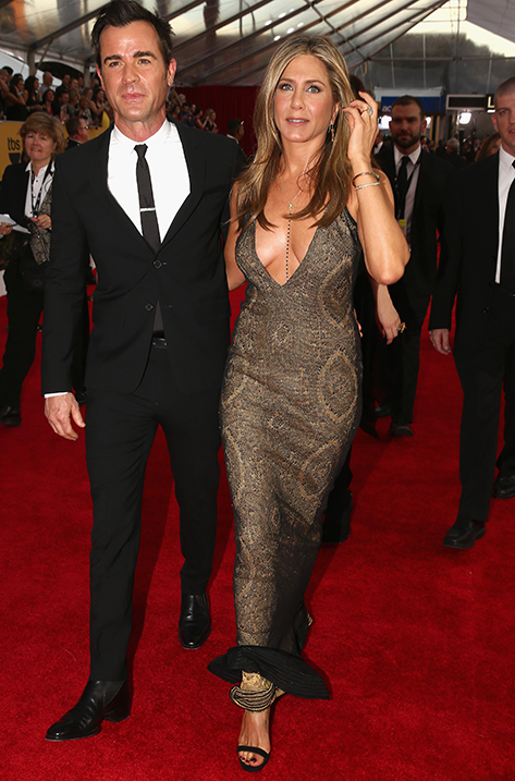 Jennifer Aniston wearing Claudette