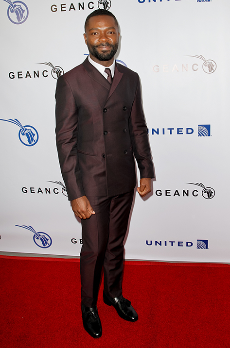 David Oyelowo wearing Foxley
