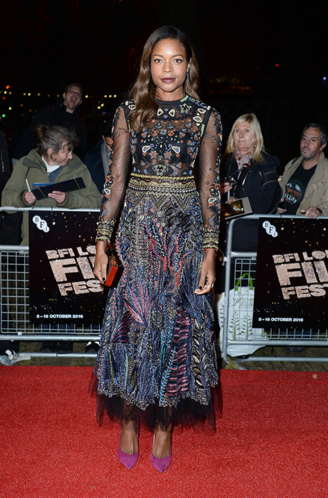 Naomie Harris wearing KAYOMI