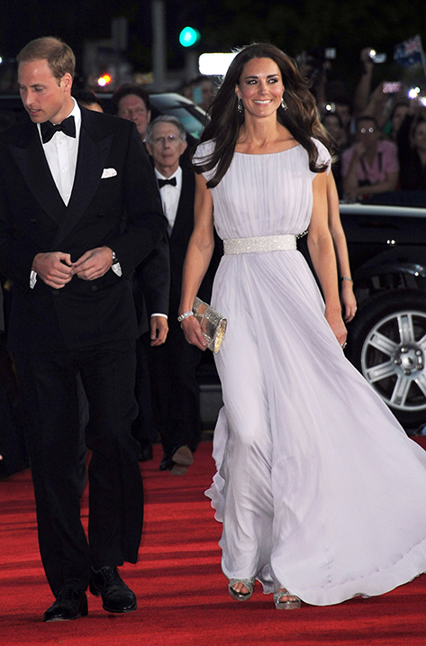 2011 Kate Middleton Wears VAMP