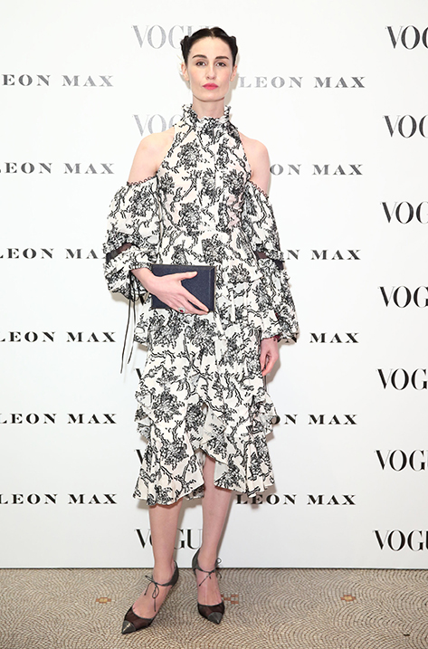 Erin O'Connor wearing Void