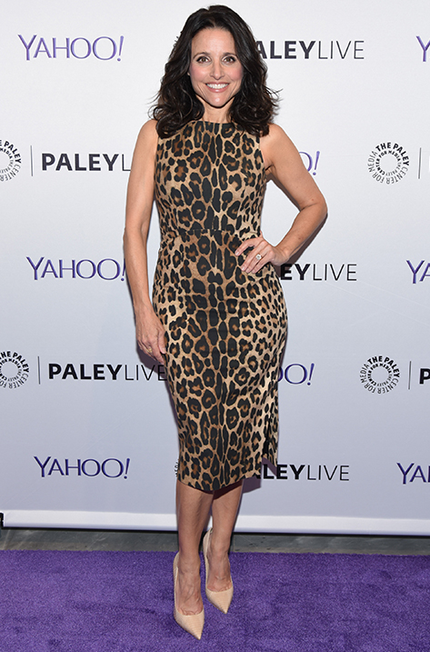 Julia Louis Dreyfus wearing Anouk