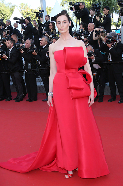 Erin O'Connor wearing Xenia