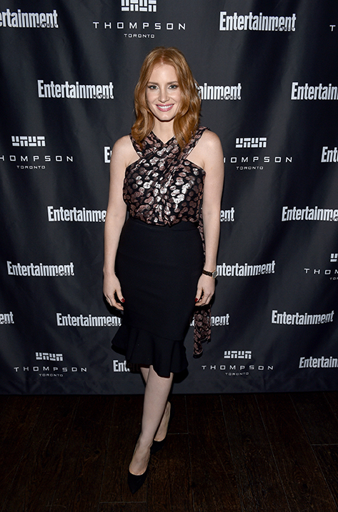 Jessica Chastain wearing Bea