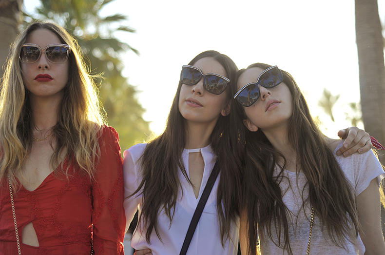 Coachella with Haim