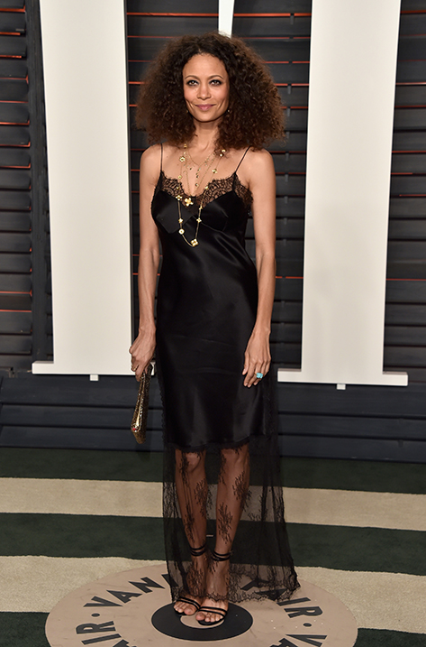 Thandie Newton wearing Tizzy