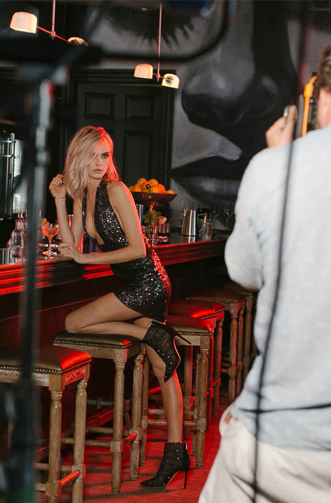 Behind the Scenes with Cara Delevingne