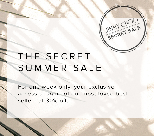 Jimmy Choo Secret sale