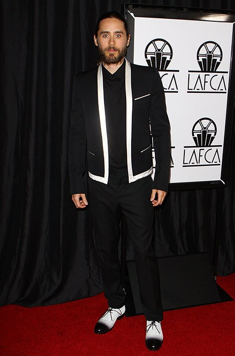 Jared Leto wearing Gentry