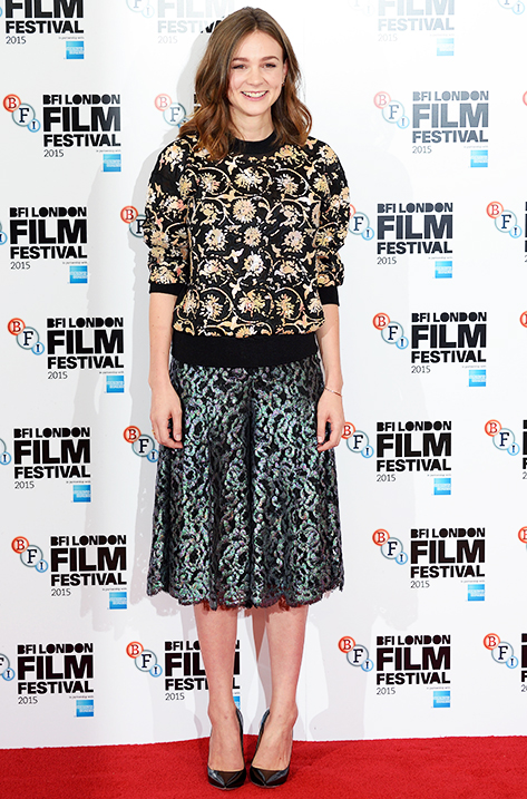 Carey Mulligan wearing Anouk