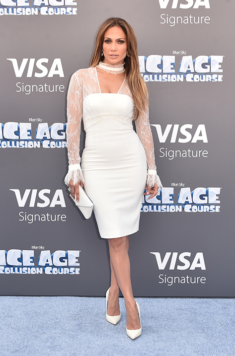 Jennifer Lopez wearing ANOUK