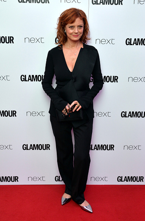 Susan Sarandon wearing Lucy