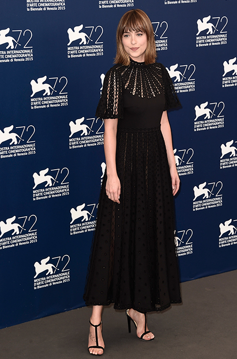 Dakota Johnson wearing Lucille