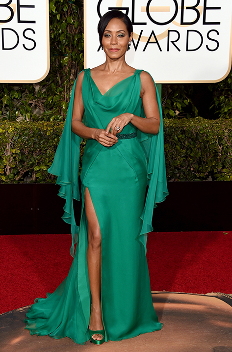 Jada Pinkett Smith wearing Pearl
