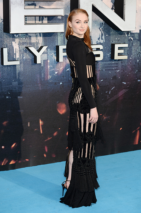 Sophie Turner wearing Minny