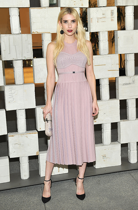 Emma Roberts wearing LUCY