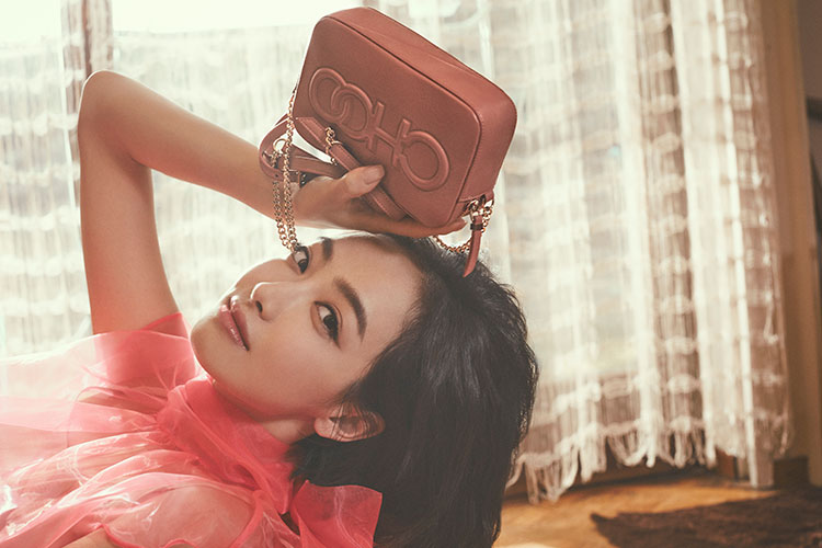 Victoria Song Qian with BALTI bag