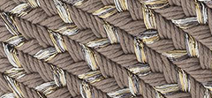Metallic Braided Fabric
