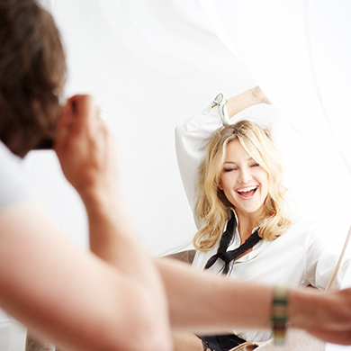 Behind the Scenes with Kate Hudson