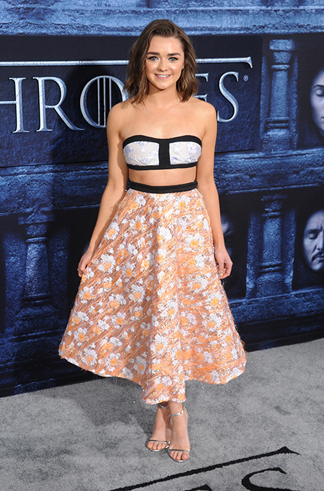 Maisie Williams wearing Minny