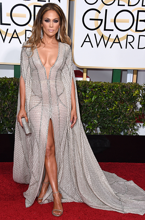 Jennifer Lopez carrying Mini Charm