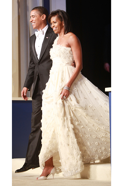 2009 Michelle Obama at Inauguration