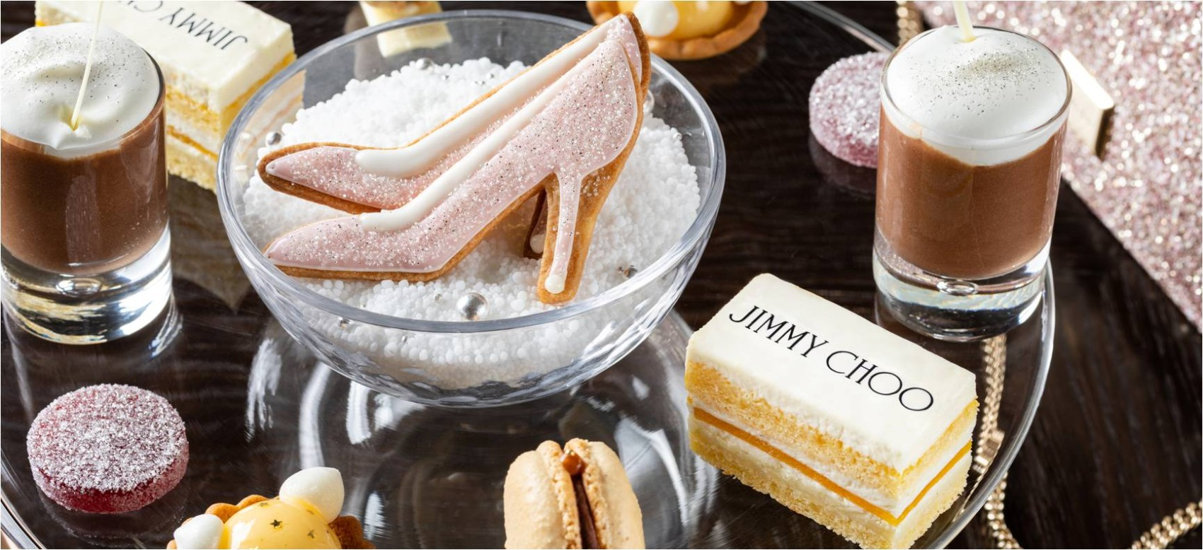 MOTIF AFTERNOON TEA COLLECTION WITH JIMMY CHOO