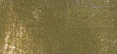 BICOLOUR CRACKED METALLIC COATED FABRIC